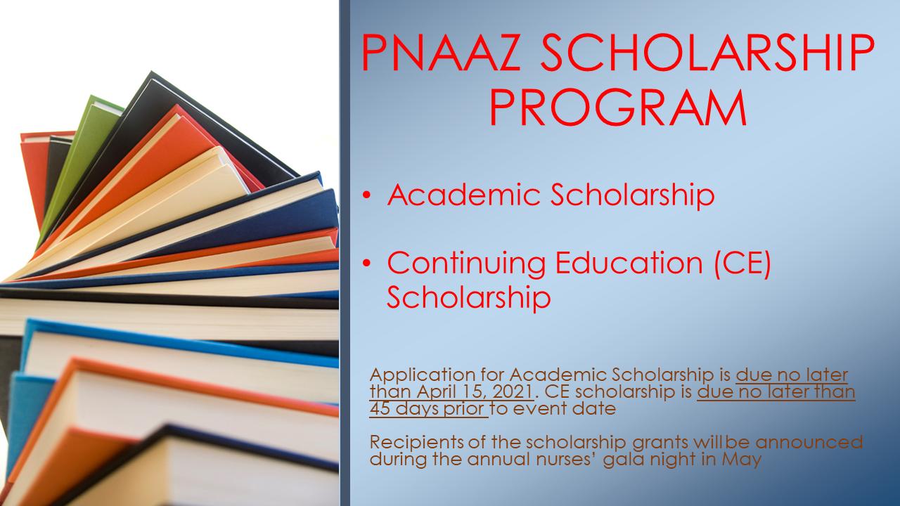 PNAAZ Scholarship Program 3 2021