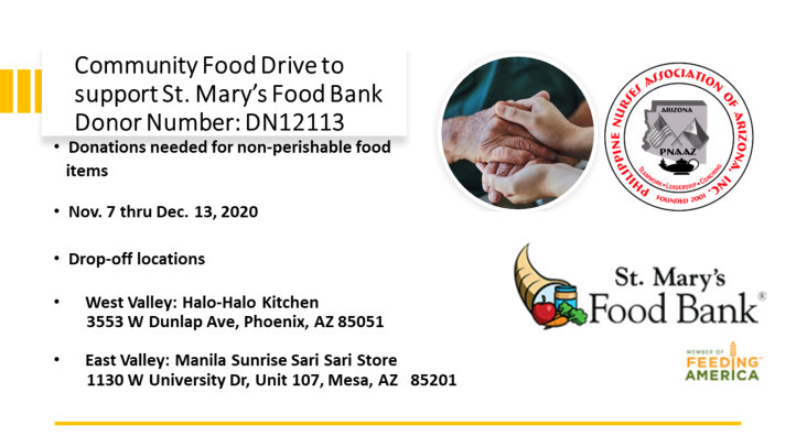 saint mary food bank information