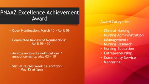 PNAAZ Excellence Achievement Awards