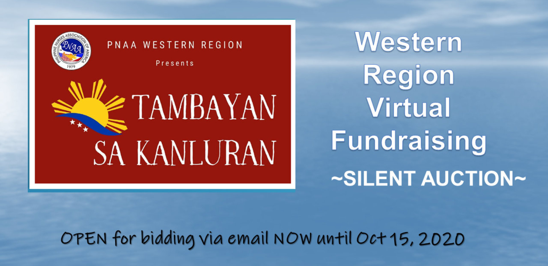 banner for fundraising