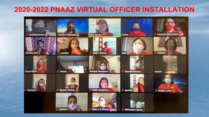 2020-2022 PNAAZ Virtual Officer Installation